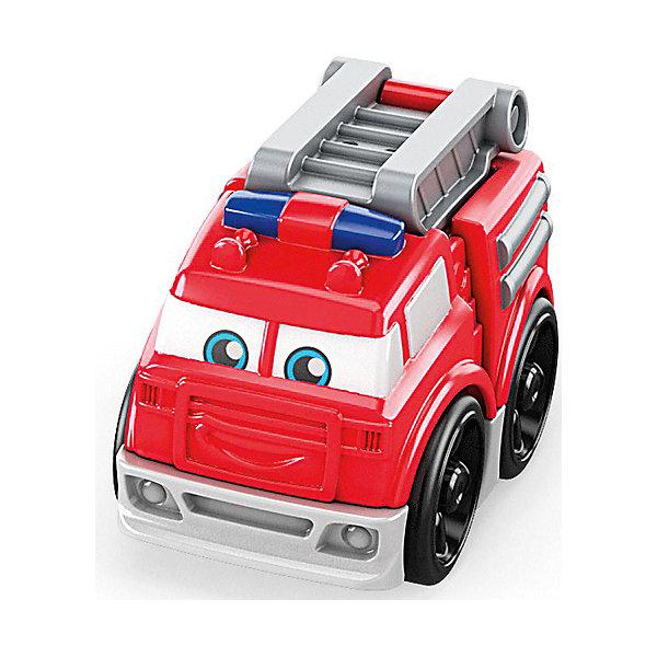 Mattel Конструктор Mega Bloks Гоночные машинки Пожарная машинка