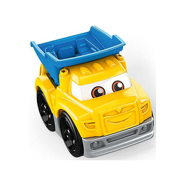 Mattel Конструктор Mega Bloks Гоночные машинки Самосвал mattel конструктор mega blocks гоночные машинки оранжевая
