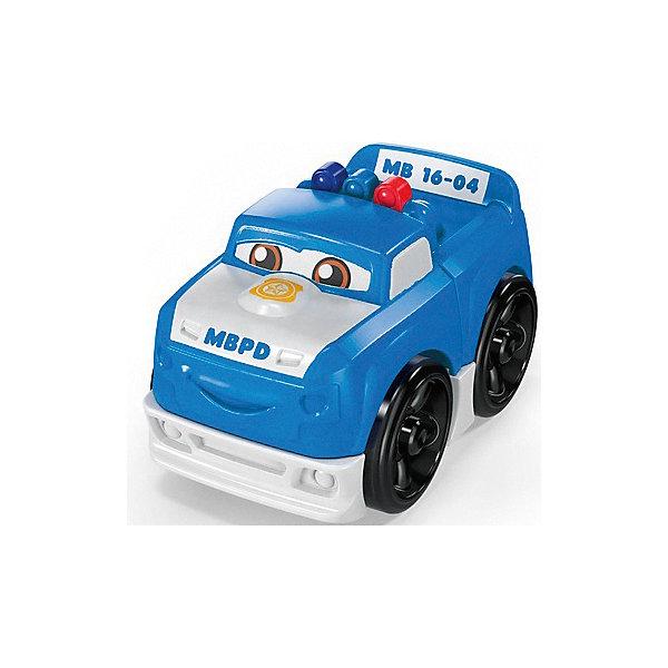Mattel Конструктор Mega Bloks Гоночные машинки Полиция набор конструктор mega bloks halo танк носорог 822 элемента