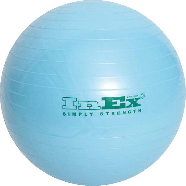 Inex Мяч гимнастический INEX 55 см ролик массажный профилированный hollow roller 14 33 см inex ehr13