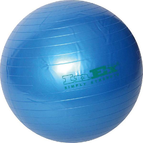 Inex Мяч гимнастический INEX 75 см ролик массажный профилированный hollow roller 14 33 см inex ehr13