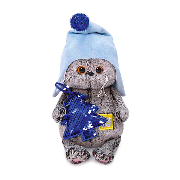 Budi Basa Мягкая игрушка Budi Basa Кот Басик Baby с ёлочкой, 20 см цены онлайн