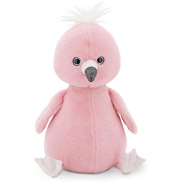 Orange Мягкая игрушка Пушистик Фламинго, 35 см