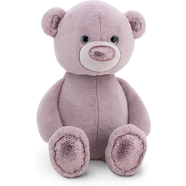 Orange Мягкая игрушка Пушистик Медвежонок, 35 см