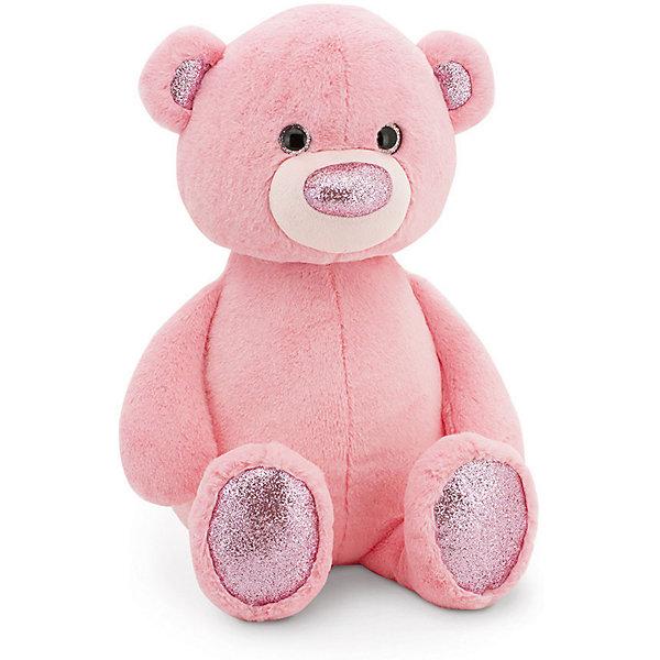 Orange Мягкая игрушка Пушистик Медвежонок, 22 см