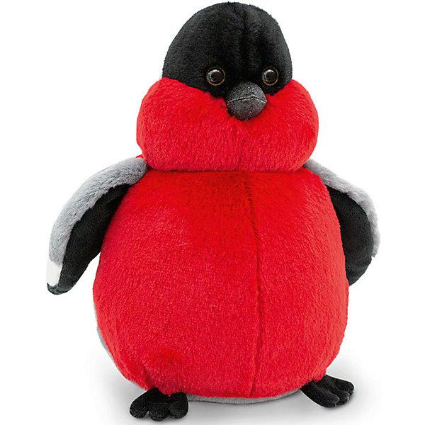 Orange Мягкая игрушка Пушистик Снегирь, 22 см россия ёлочная игрушка снегирь прогулка по лесу