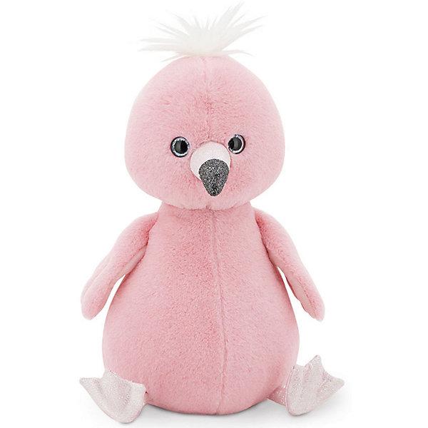 Orange Мягкая игрушка Пушистик Фламинго, 22 см