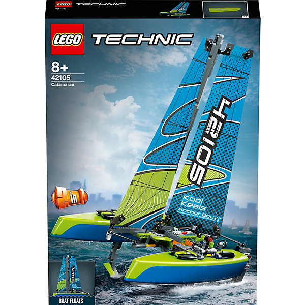 LEGO Конструктор LEGO Technic 42105: Катамаран lego lego friends 41317 катамаран саншайн