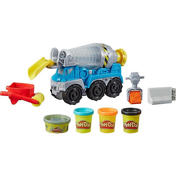 Купить Игровой набор Play-Doh Wheels Бетономешалка, Hasbro, Китай, Унисекс