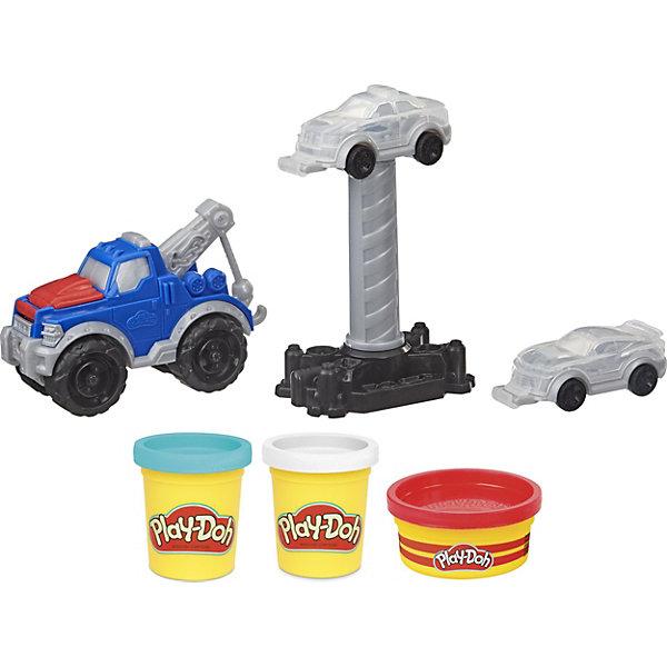 Купить Игровой набор Play-Doh Wheels Эвакуатор, Hasbro, Китай, Унисекс