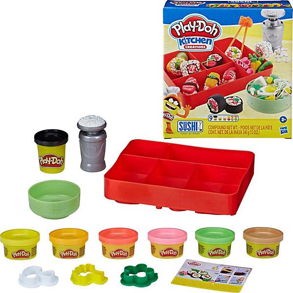 Купить Игровой набор Play-Doh Kitchen Creations Суши, Hasbro, Китай, Унисекс