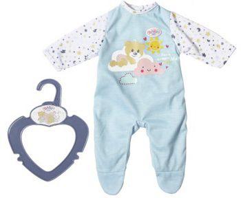 BABY born® Одежда для куклы Zapf creation My little baby born Ночной комбинезончик,