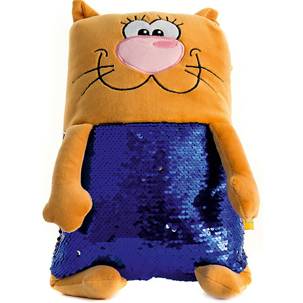 Tallula Мягкая игрушка Tallula Кот персиковый, 43 см maxi toys мягкая игрушка антистресс черепашка геля цвет синий 43 см