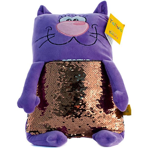 Tallula Мягкая игрушка Tallula Кот, 43 см maxi toys мягкая игрушка антистресс черепашка геля цвет синий 43 см