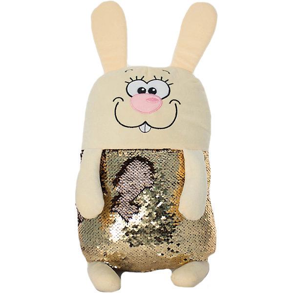 KiddieArt Мягкая игрушка Tallula Заяц, 45 см игрушка заяц в новогодней одежде музыкальный 25 см