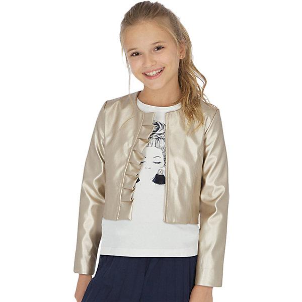 Кожаная куртка Mayoral 13806427