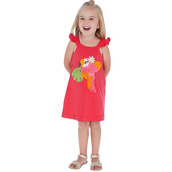 Купить Платье Mayoral, Турция, красный, 116, 128, 104, 134, 122, 110, 92, 98, Женский