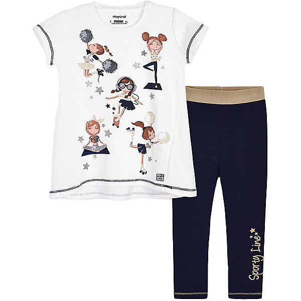 Комплект : футболка и леггинсы Mayoral 13808099