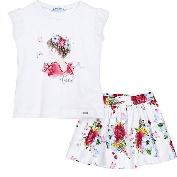 Комплект Mayoral: футболка и юбка