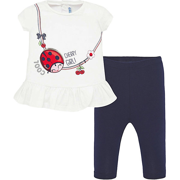 Купить со скидкой Комплект Mayoral: футболка и леггинсы