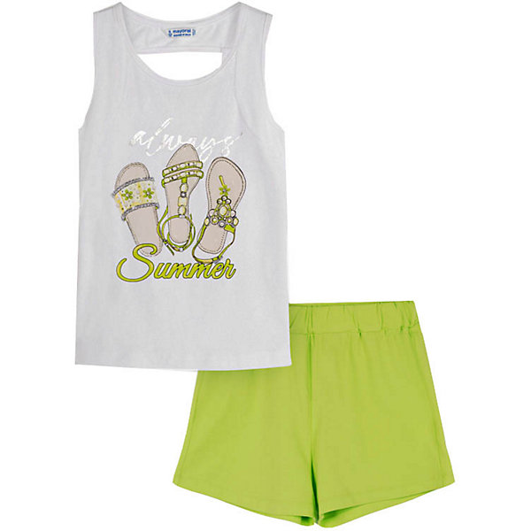 Mayoral Комплект Mayoral: футболка и шорты mayoral mayoral комплект одежды шорты и футболка белый