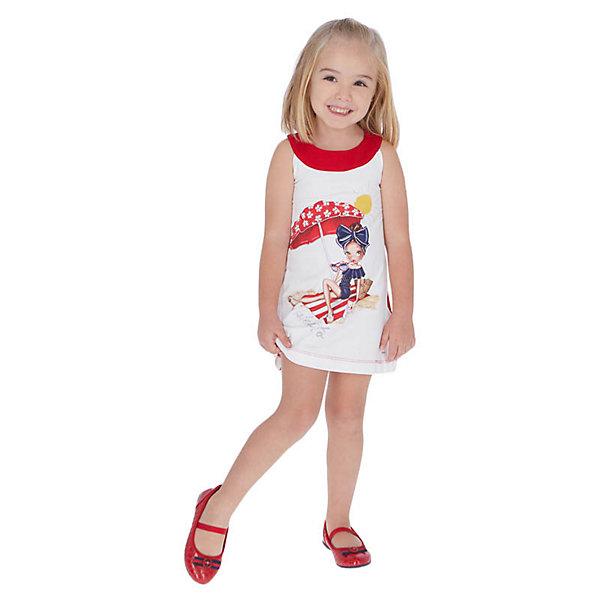 Купить Платье Mayoral, Турция, красный, 122, 92, 134, 98, 110, 116, 104, 128, Женский