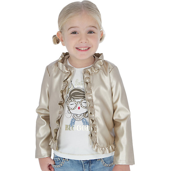 Mayoral Кожаная куртка Mayoral цена 2017
