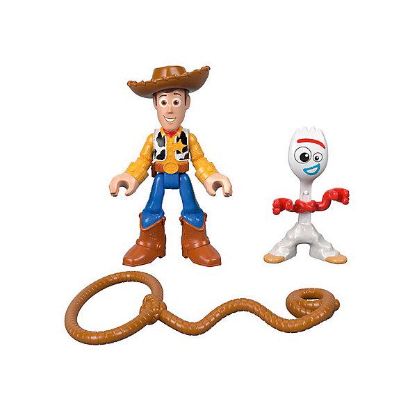 Mattel Набор фигурок Imaginext История игрушек 4 Форки и Вуди