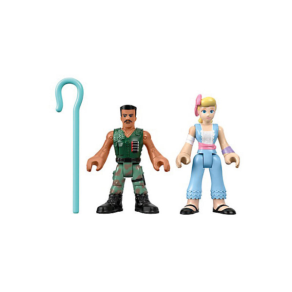 Mattel Набор фигурок Imaginext История игрушек 4 Боевой Карл и Бо Пип