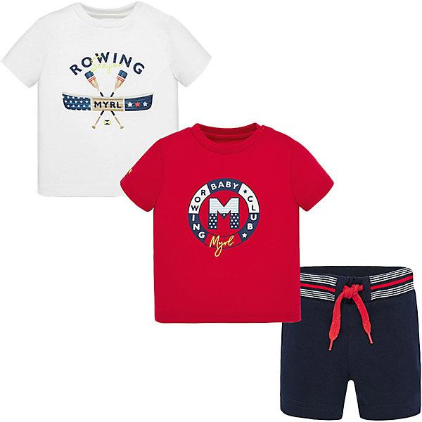 Mayoral Комплект Mayoral: футболка 2 шт и шорты комплект футболок 2 шт
