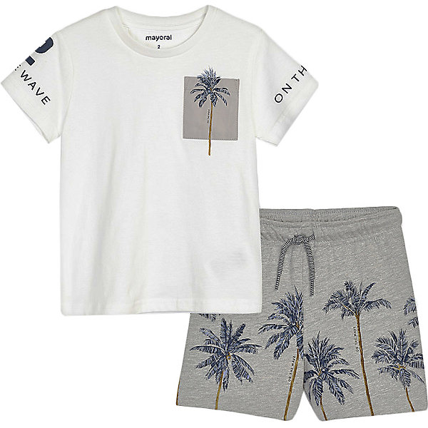 Комплект Mayoral: футболка и шорты Mayoral 13859964