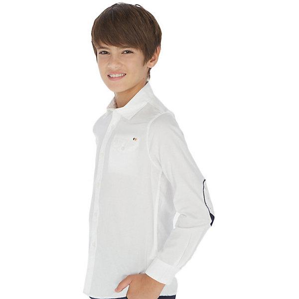 Фото - Mayoral Рубашка Mayoral рубашка lime рубашка с карманом