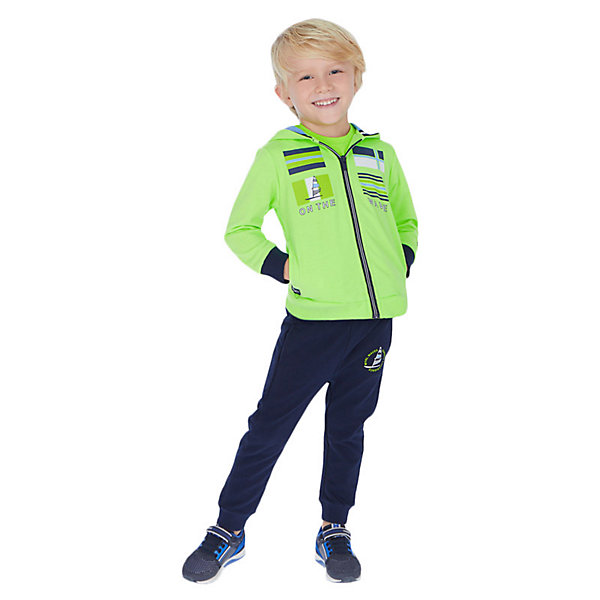 Купить Спортивный костюм Mayoral, Китай, зеленый, 128, 116, 110, 98, 104, 122, 92, 134, Мужской
