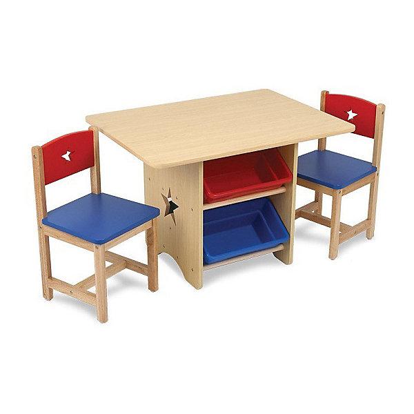 цена на KidKraft Набор детской мебели KidKraft Star