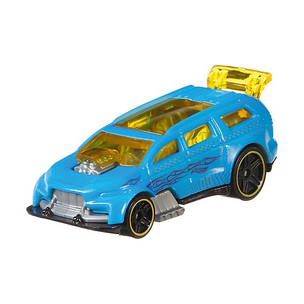 Mattel Машинка Hot Wheels Color Shifters Nitro Tailgater, меняет цвет