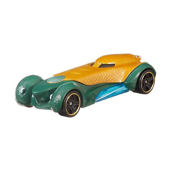 Купить Машинка Hot Wheels DC Charaster Cars Аквамен, Mattel, Малайзия, разноцветный, Мужской
