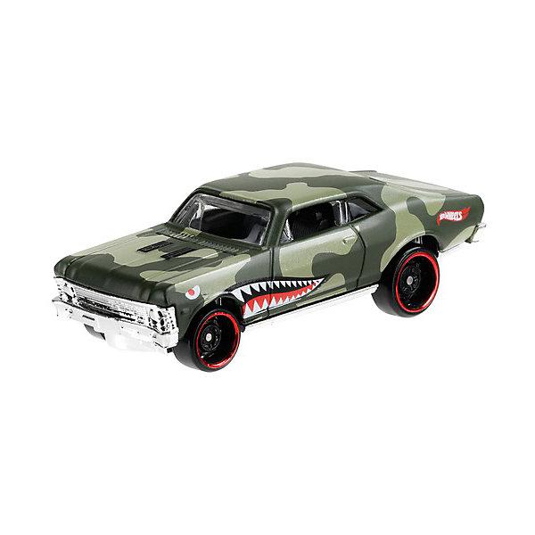 Базовая машинка Hot Wheels 68 Chevy Nova Mattel 13892833