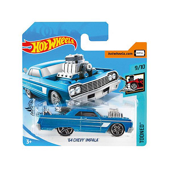 Базовая машинка Hot Wheels 64 Chevy Impala Mattel 13892837