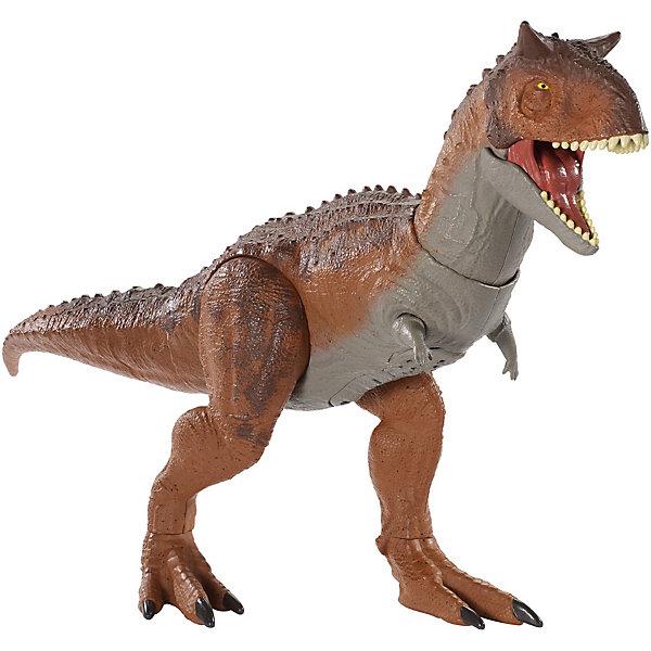 Mattel Фигурка динозавра Jurrasic World Большой Карнотавр евгений соломенко час ч или ультиматум верноподданного динозавра
