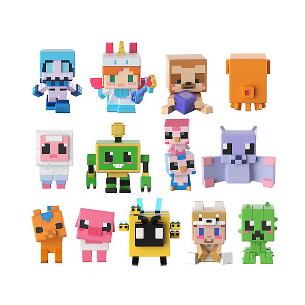 Купить Мини-фигурка Minecraft, в ассортименте, Mattel, Китай, Мужской