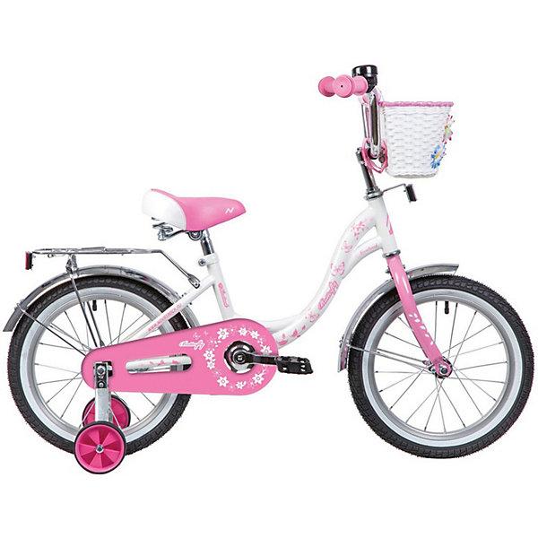 цена на Novatrack Двухколёсный велосипед Novatrack Butterfly, 16 дюймов