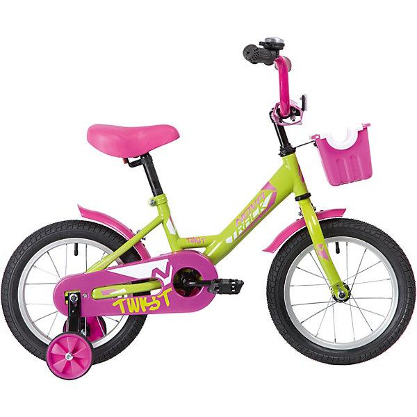 цена на Novatrack Двухколёсный велосипед Novatrack Twist, 16 дюймов