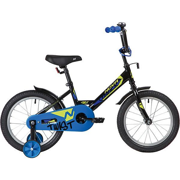 Novatrack Двухколёсный велосипед Novatrack Twist, 16 дюймов novatrack двухколёсный велосипед novatrack twist 14 дюймов