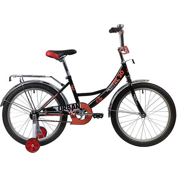 Novatrack Двухколёсный велосипед Novatrack Urban, 20 дюймов цена и фото