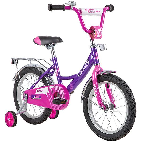 цена на Novatrack Двухколёсный велосипед Novatrack Vector, 16 дюймов