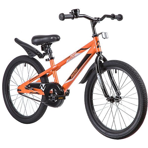 Novatrack Двухколёсный велосипед Novatrack Juster, 20 дюймов цена и фото