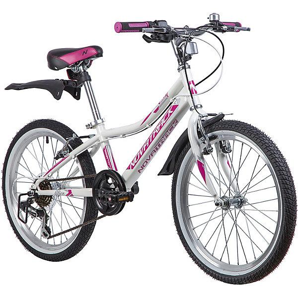 цена на Novatrack Двухколёсный велосипед Novatrack Alice, 20 дюймов