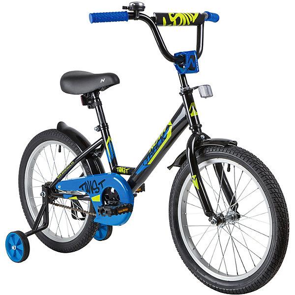 Novatrack Двухколёсный велосипед Novatrack Twist, 18 дюймов novatrack двухколёсный велосипед novatrack twist 14 дюймов