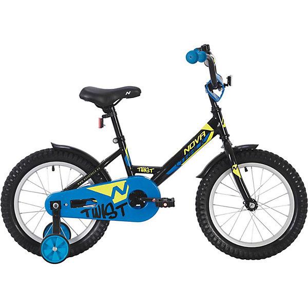 Novatrack Двухколёсный велосипед Novatrack Twist, 20 дюймов novatrack двухколёсный велосипед novatrack twist 14 дюймов