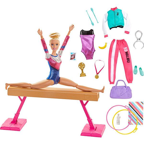Mattel Игровой набор Barbie Гимнастка mattel игровой набор barbie тереза гимнастка